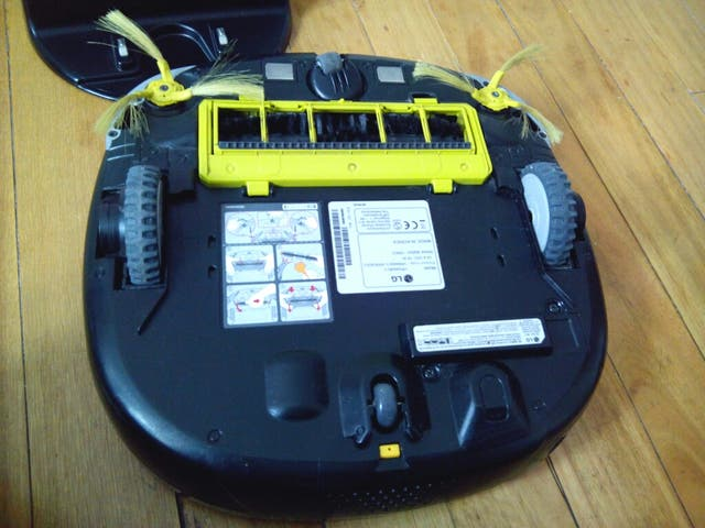Aspiradora robot LG HOM-BOT