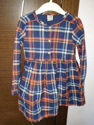 Vestido de niña, Charanga, talla 4-5