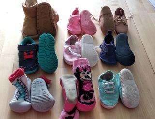 Lote Attipas y calzado 10 pares n° 19 20