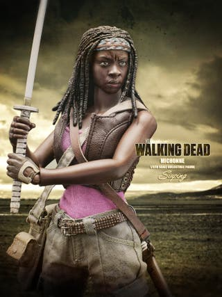 threezero michonne the walking dead 1/6