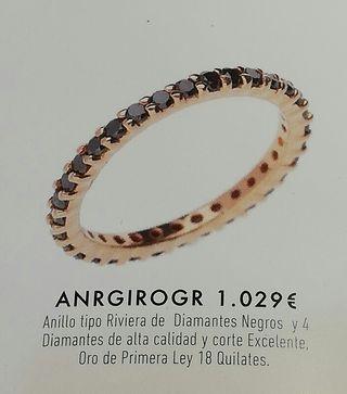 3a7e1988a516 Anillo de compromiso diamante de segunda mano en WALLAPOP