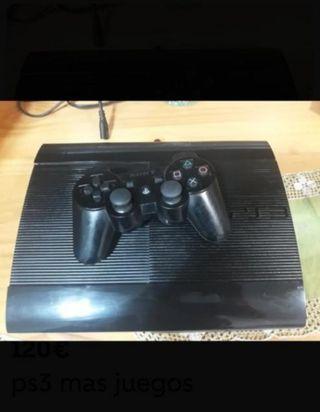ps3 +mando + juegos
