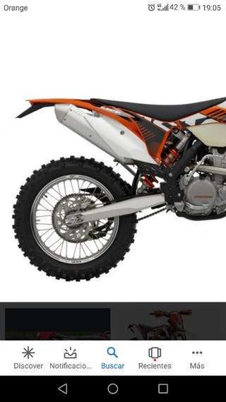 escape original ktm 350 exc