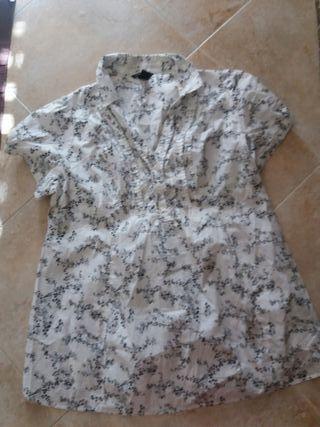 camisa de verano premamá talla grande