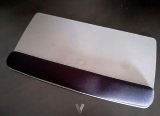Reposamuñecas completo con gel para teclado 3M