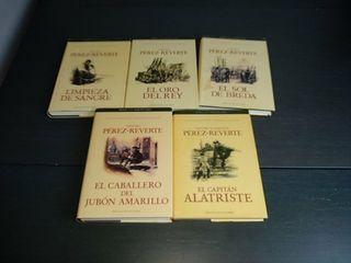 5 libros de El Capitán Alatriste.