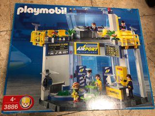 Terminal Aeropuerto Playmobil 3886