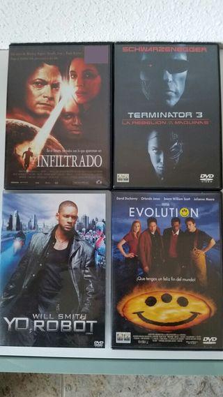 Peliculas dvd ciencia-ficción