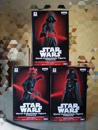 Colección WCF premium star wars El lado oscuro