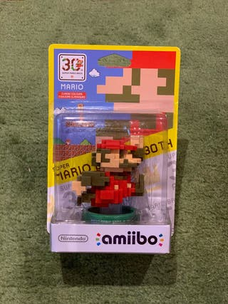 Amiibo Mario 8 Bits - Colección 30th Aniversario