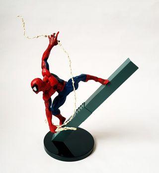 figuras marvel goukai Venon vs spiderman banpresto