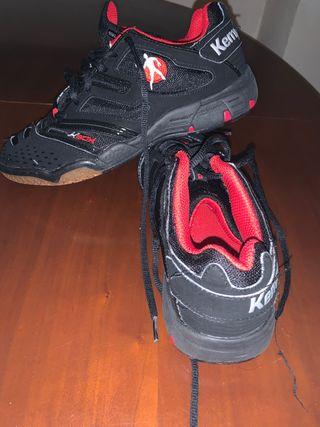 Zapatos kempa deporte interior