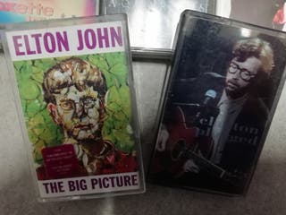 K7s cassettes rock, poprock, etc
