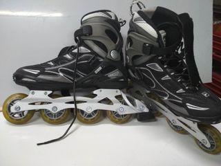patines en linea aluminio