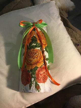 Tejas decoradas para regalo 10€