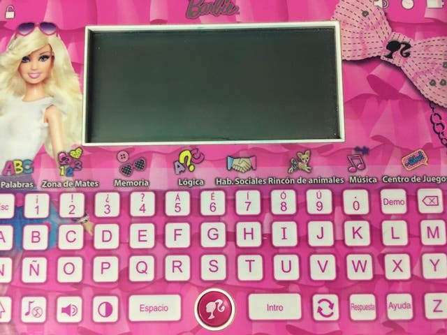 Tablet Barbie