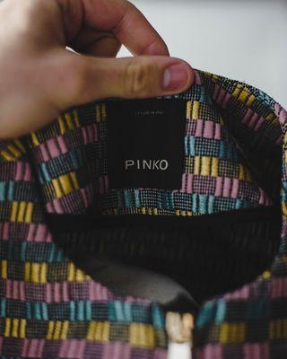 NEW Bassita Fringed Jacket - PINKO - Size: 36 (EU)