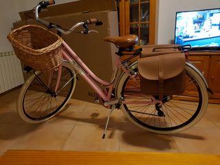 Bicicleta Rosa Mujer Via Veneto by Canellini