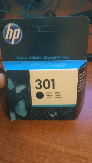 HP tinta negra 301 - Abierta sin Usar