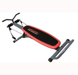 banco de ejercicios crossfit, deporte en casa.