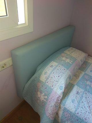 Cabecero POLIPIEL cama 90