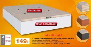 Canape 105 cm Madera