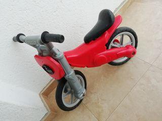 moto de inicio bici....