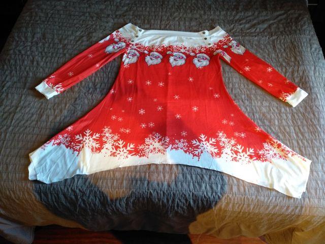 blusa navidad