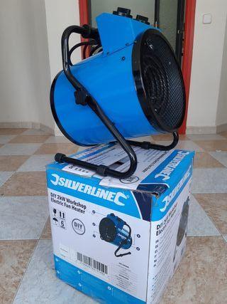 calefactor industrial electrico