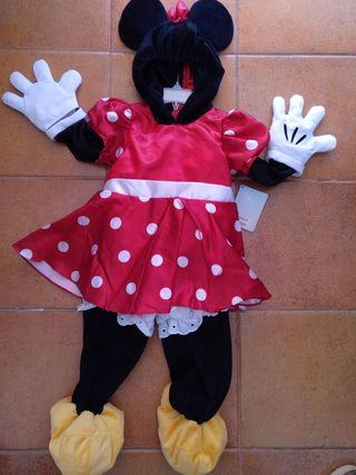 disfraz Minnie a estrenar talla 3-4