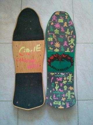 tablas skateboard old school