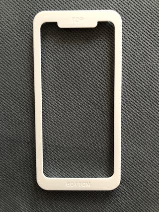 Fijador cristal templado Iphone X