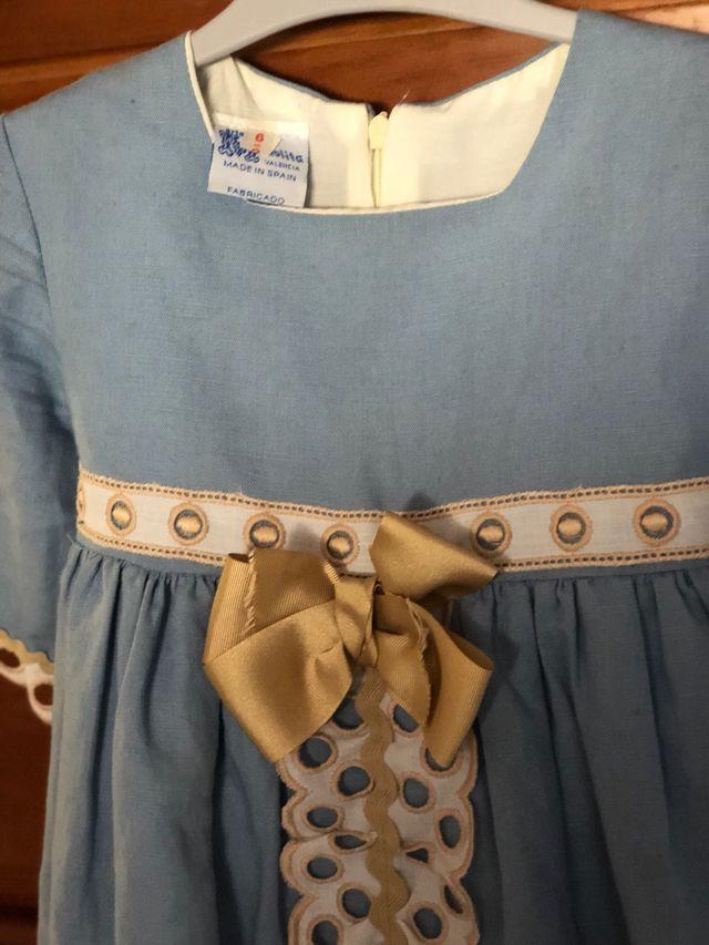Vestido Artesanía Manolita talla 6