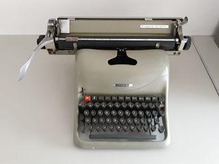 máquina. de escribir