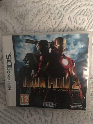 Juego Nintendo 3DS/ Iron Man 2