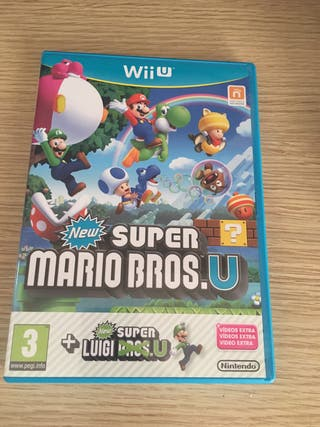 Wii u New Super Mario Bros u más New Super Luigi u