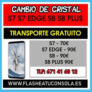 REPARAR CRISTAL S8 S9 S7 EDGE PLUS
