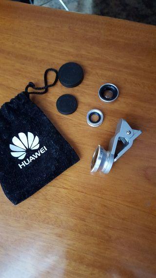 Kit de lentes para movil.