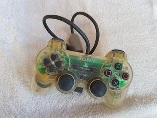 Mando PS2 transparente playstation 2