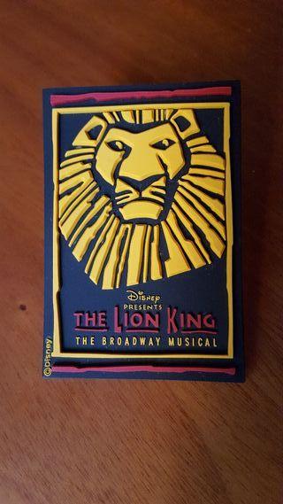 Iman original Disney para la nevera del Rey Leon.
