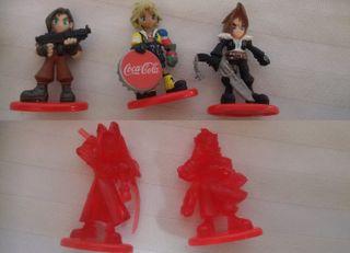 Figuras Final Fantasy de Coca Cola