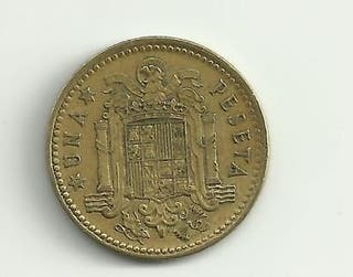 Moneda 1 PESETA 1966 (Franco)