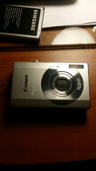 cámara dijital canon