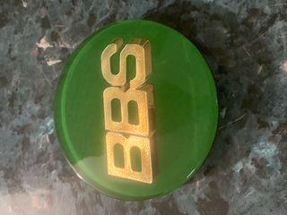 Logo Bbs 3d verde y dorado nuevos