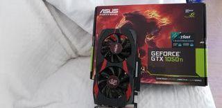 Asus Cerberus Gforce GTX 1050Ti 4gb DDR5 OC