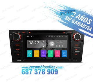RADIO NAVEGADOR ANDROID 7.1 BMW SERIE 3