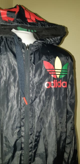 Chaqueta/impermeable T 40 Adidas chico