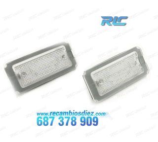 Luces de matrícula LED Fiat 500 y 500C (2007-2016)