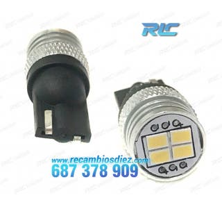 Bombillas LED Blanco diamante W5W/T10 - Black Seri