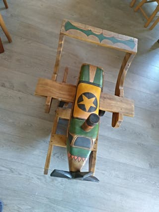 Avion de madera - Balancín